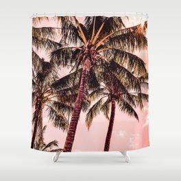 Tropical blush Shower Curtain