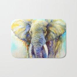 Gentle Giant_ Elephant Art Bath Mat
