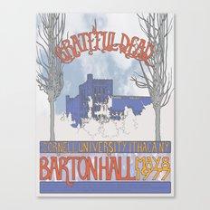 Barton Hall '77 Canvas Print