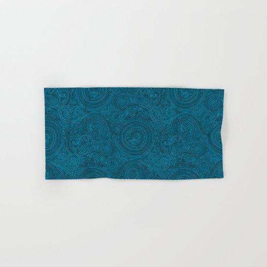 Pattern Spiral Biscay Bay Hand & Bath Towel