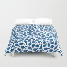Blue Whales Duvet Cover