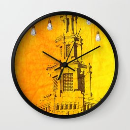 ALL THE LIGHTS Wall Clock