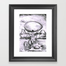 visitation Framed Art Print