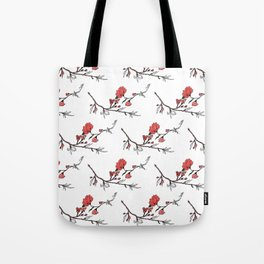 Withering and Blossoming Tote Bag
