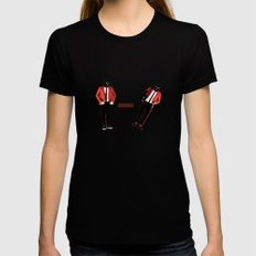 twenty one pilot  Womens Fitted Tee MEDIUM Black