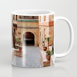 agadir medina courtyard Coffee Mug