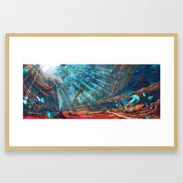 The Water Girl Framed Art Print