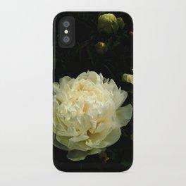 Peony 2 iPhone Case