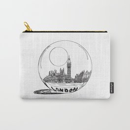 LONDON City in a Glass Ball Carry-All Pouch