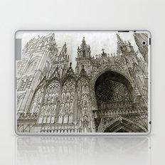 Rouen facade Laptop & iPad Skin