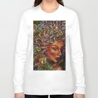 medusa Long Sleeve T-shirts featuring Medusa.... by shiva camille