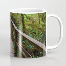 Walks through the Rainforest on Vancouver Island, Canada Coffee Mug