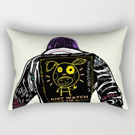 Just watch me Rectangular Pillow