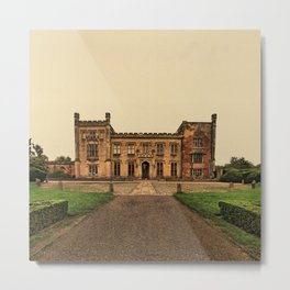 A splendid past. Elvaston Castle, Derbyshire Metal Print