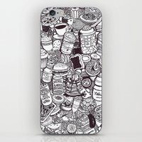 food iPhone & iPod Skins featuring FOOD by Candice Soon