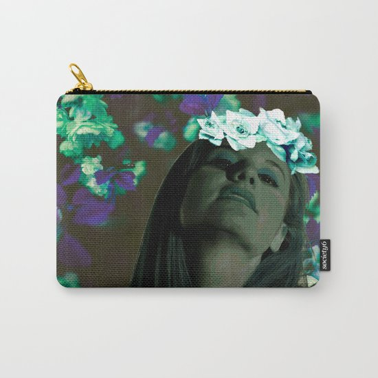Queen of Spring Carry-All Pouch