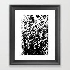 Dense forest Framed Art Print