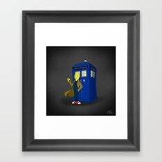 Doctor Lemongrab  Framed Art Print