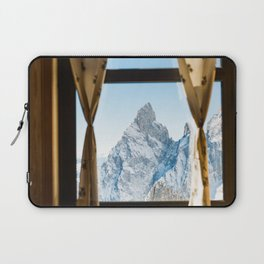 Looking at the Mountains Laptop Sleeve