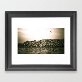 At the River... Framed Art Print