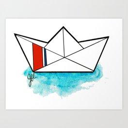 USCGC Origami Art Print
