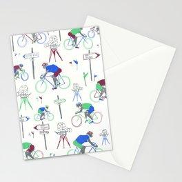 Race Riding  Stationery Cards