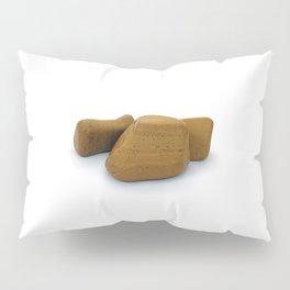 Three Yellow Pebbles Set Pillow Sham