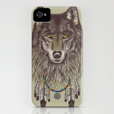 Wind Catcher Wolf iPhone (4, 4s) Slim Case