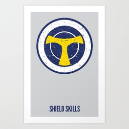 Taskmaster - Shield Skills Art Print