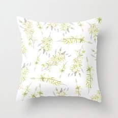 Fields of Lavender Throw Pillow