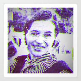 Rosa Parks Art Print