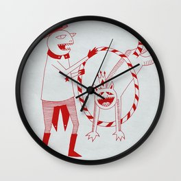 If it's a Circus Then Act Like it's a Circus Wall Clock