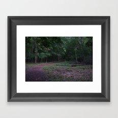 Go Deeper Framed Art Print