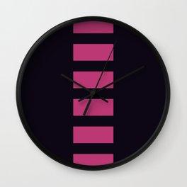 Le Diable Blanc - Cajun - Minimalist Wall Clock