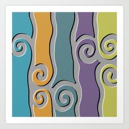 Tangier Tile Art Print