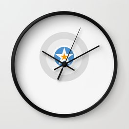 Heroic Moment Wall Clock