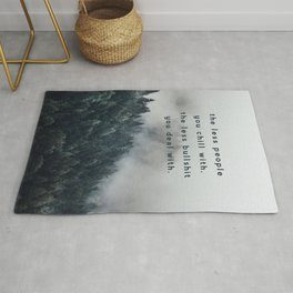 Chill in the Wilderness Rug