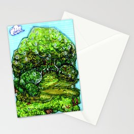 Forest Landscape Stationery Cards