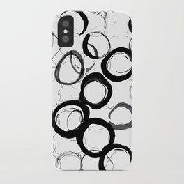 Abstract Line No. 22 iPhone Case