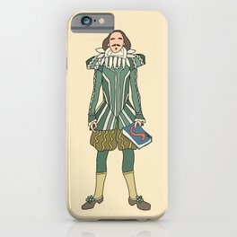 Outfit of Shakespeare iPhone Case