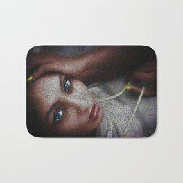 'Don't Let Your Soul Dim' - Female Form Portrait Bath Mat