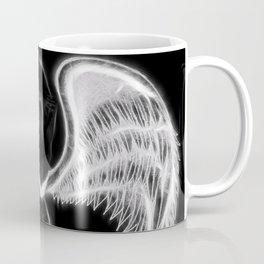 Angel negro de alas blancas Coffee Mug