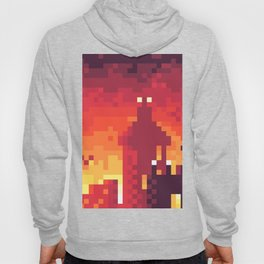 Pixel Town at Sundown Hoody