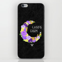 Crescent Bloom   Lavender and lemons  iPhone Skin