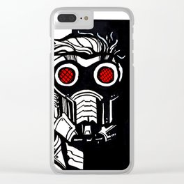 """STARLORD"" Clear iPhone Case"