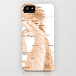 The Regal Type iPhone Case