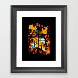 Abstract Composition #3 Framed Art Print