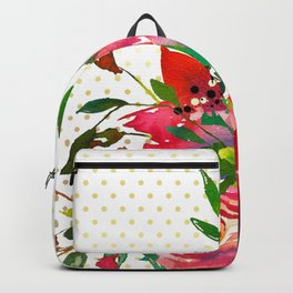 Flowers bouquet #37 Backpack