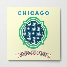 Grant Park, Chicago Metal Print