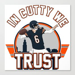 """The Victrs """"In Cutty We Trust"""" Canvas Print"""